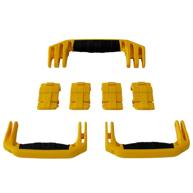 Yellow Replacement Handles & Latches for Pelican 1607 Air, 3 Yellow Handles, 4 Yellow Latches - Pelican Color Case