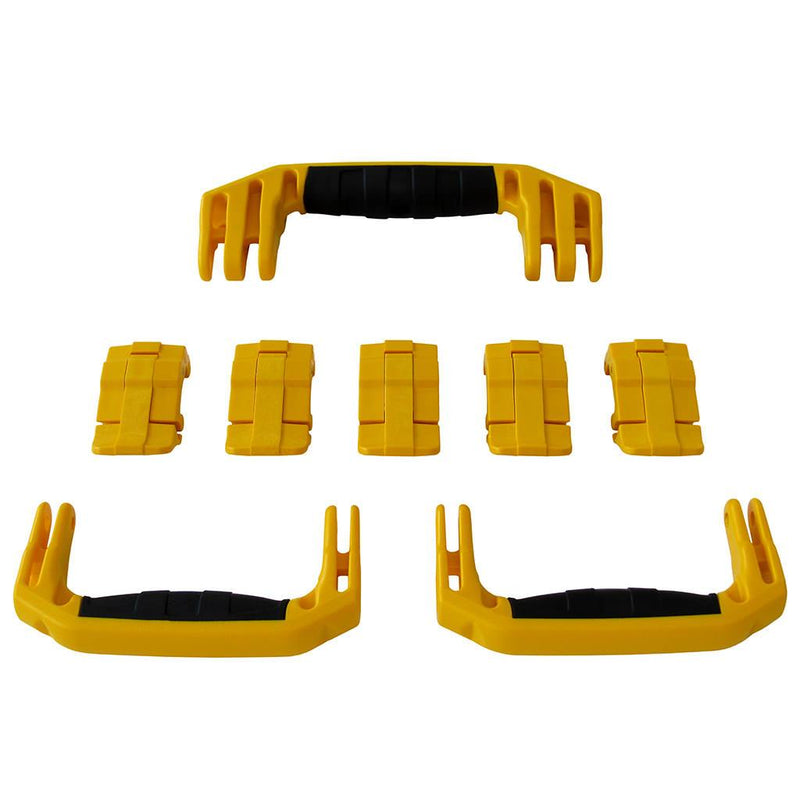 Yellow Replacement Handles & Latches for Pelican 1615 or 1637 Air, 3 Yellow Handles, 5 Yellow Latches - Pelican Color Case