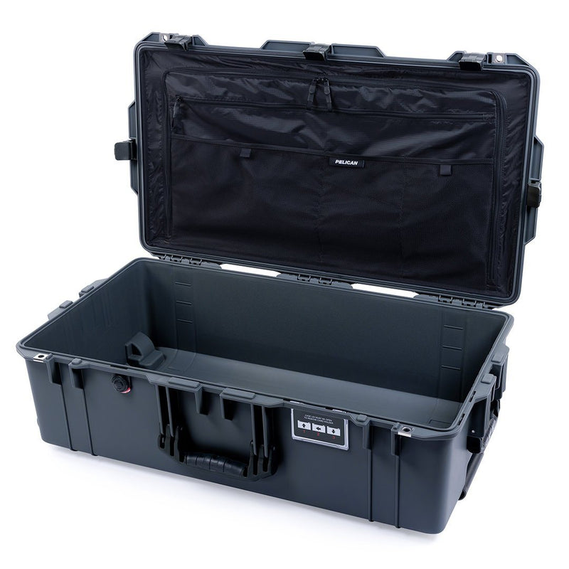 Pelican 1615 Air Case, Charcoal with Black Handles & Latches