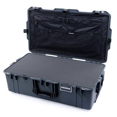 Pelican 1615 Air Case, Charcoal with Black Handles & Latches - Pelican Color Case
