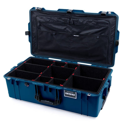 Pelican 1615 Air Case, Indigo with Black Handles & Latches - Pelican Color Case