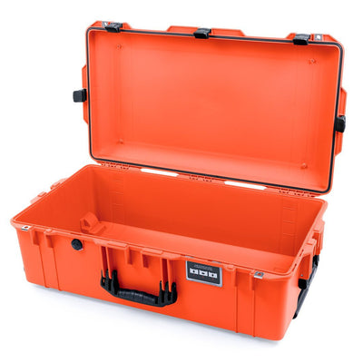 Pelican 1615 Air Case, Orange with Black Handles & Latches - Pelican Color Case
