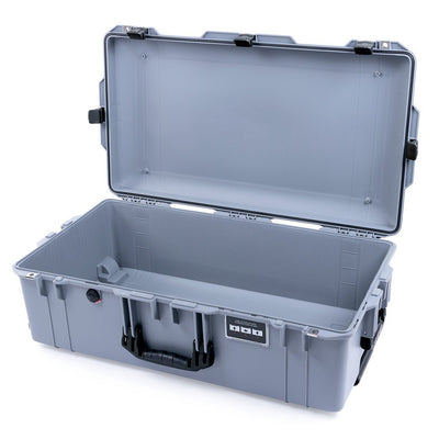 Pelican 1615 Air Case, Silver with Black Handles & Latches - Pelican Color Case