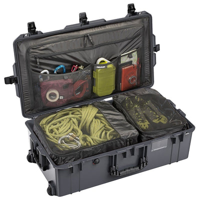 Pelican 1615TRVL Air Travel Case with Locking TSA Latches, Charcoal - Pelican Color Case