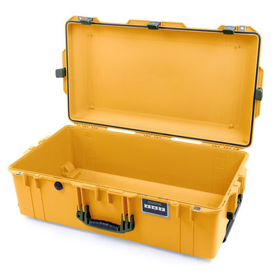 Pelican 1615 Air Case, Yellow with OD Green Handles & Latches - Pelican Color Case