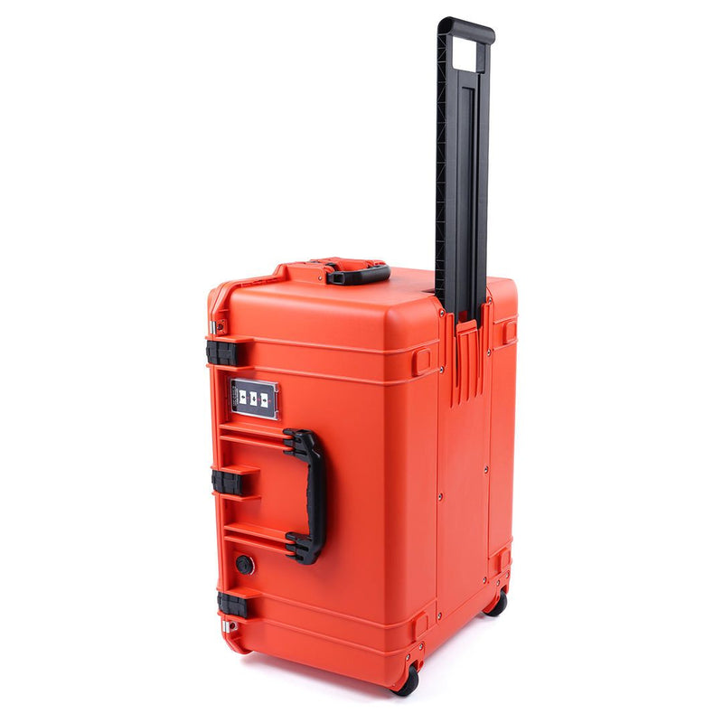 Pelican 1637 Air Case, Orange with Black Handles & Latches