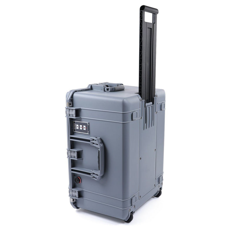 Pelican 1637 Air Case, Silver Gray, Rolling, Customizable Accessory Bundles