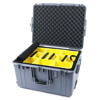 Pelican 1637 Air Case, Silver - Pelican Color Case