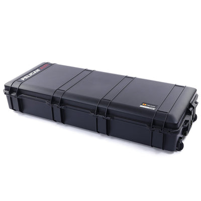 Pelican 1745 Air Case, Black with OD Green Handles, Rolling - Pelican Color Case