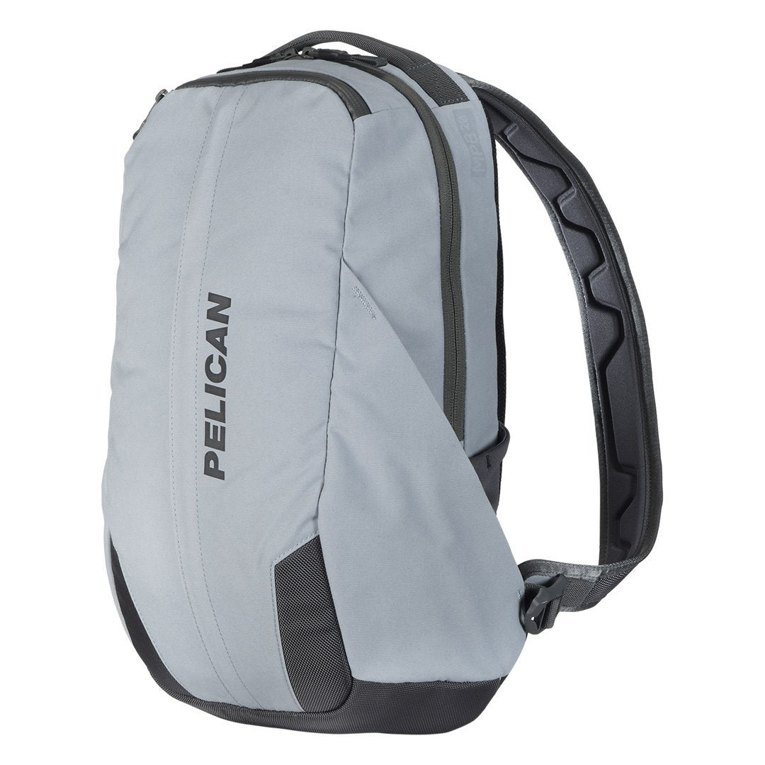 Pelican MPB20 Mobile Protect Backpack, 20 Liter Capacity, Silver Gray