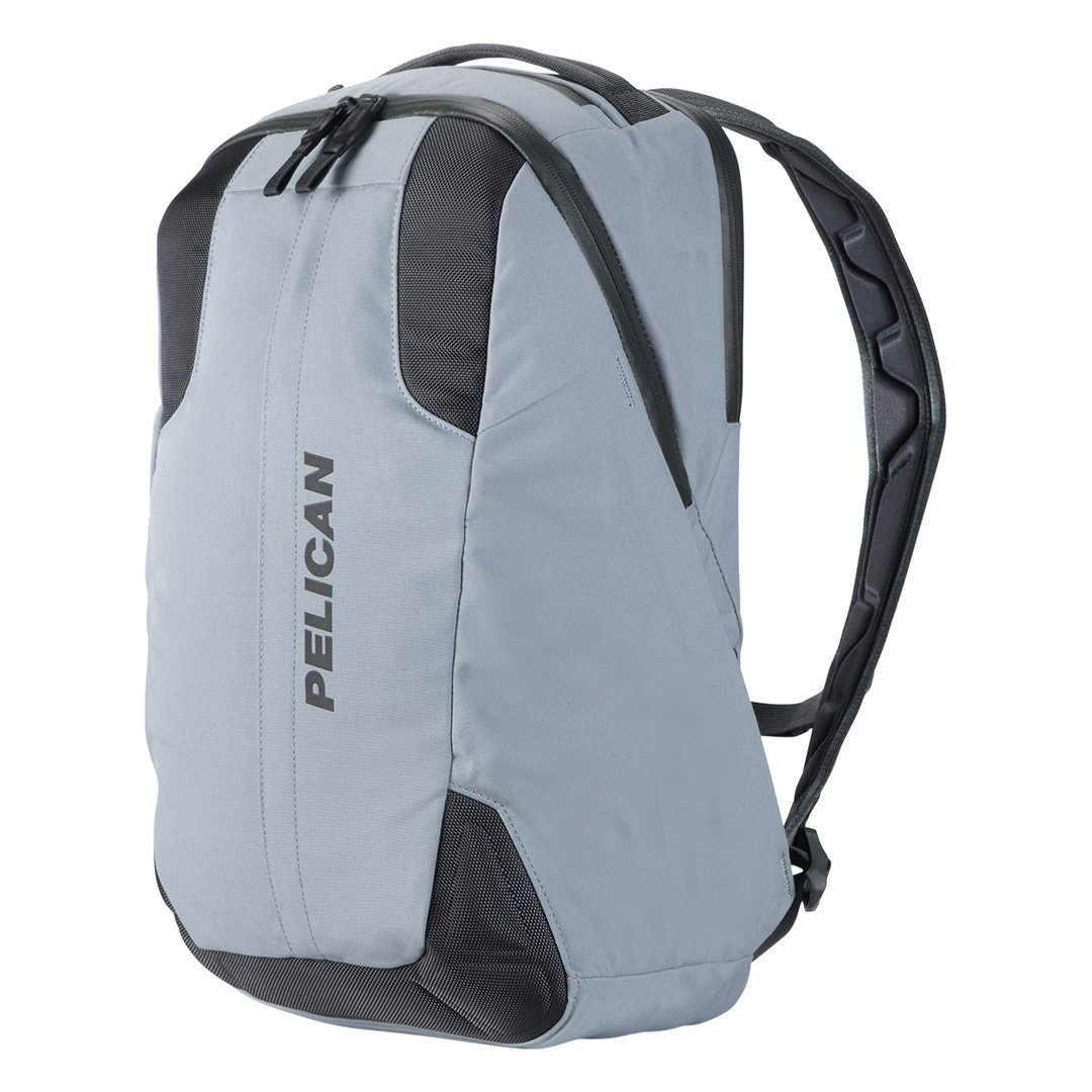 Pelican MPB25 Mobile Protect Backpack, 25 Liter Capacity, Silver Gray