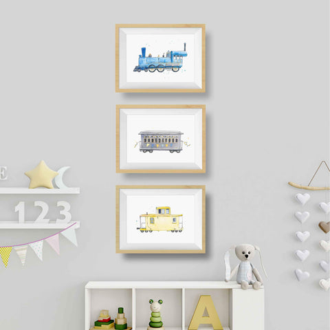 Train Decor for Nursery
