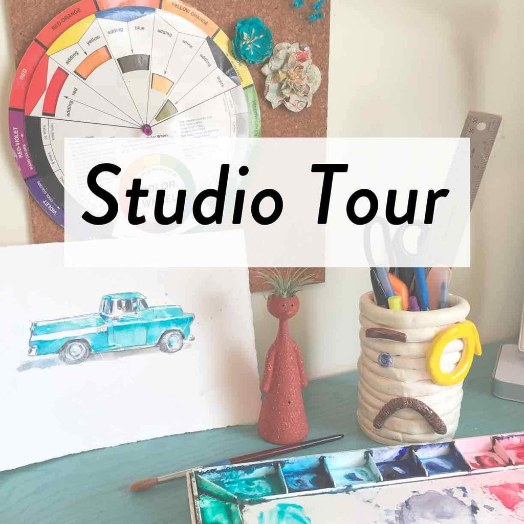 Welcome to a Tour of My Studio!