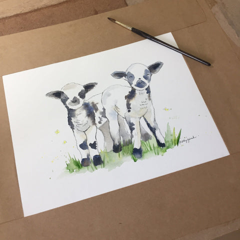 Lamb Decor for Nursery