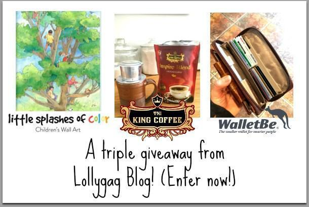 Enter the Giveaway on the Lollygag Blog