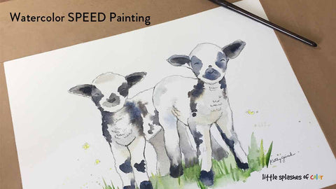 Two Lambs Speedpainting Video