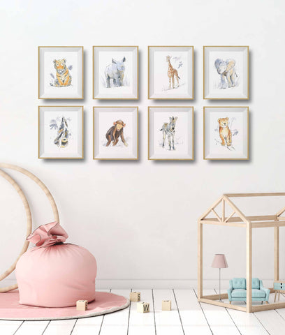 8 Reasons to Love Our Newest Safari Animal Wall Art