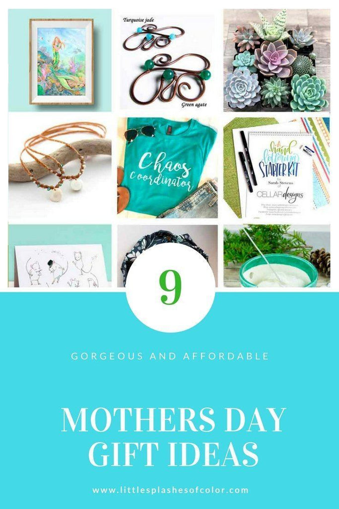 9 Gorgeous + Affordable Mothers Day Gift Ideas