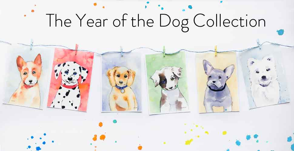 year of the dog art prints