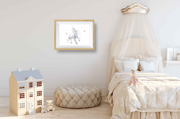 unicorn bedroom wall decor