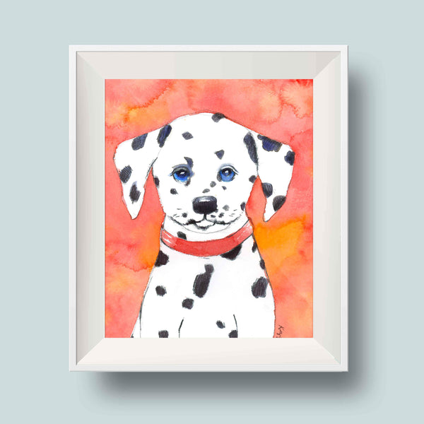 dalmatian puppy nursery decor