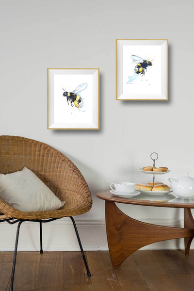 bumble bee wall decor