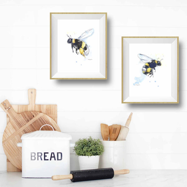 honey bee wall decor