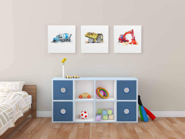 construction nursery decor