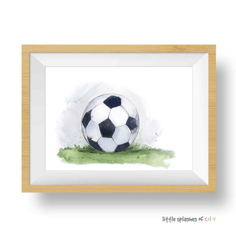 soccer ball wall decor
