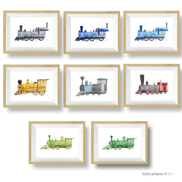 train nursery theme