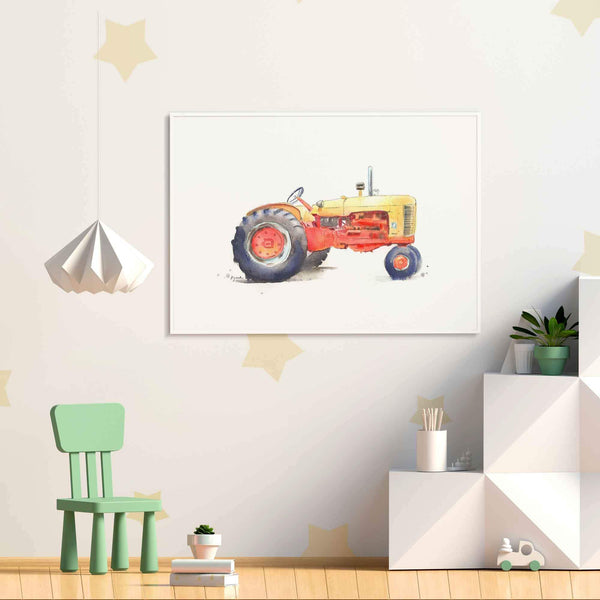 TRACTOR WALL DECOR