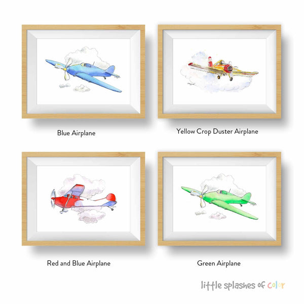 airplane printable nursery