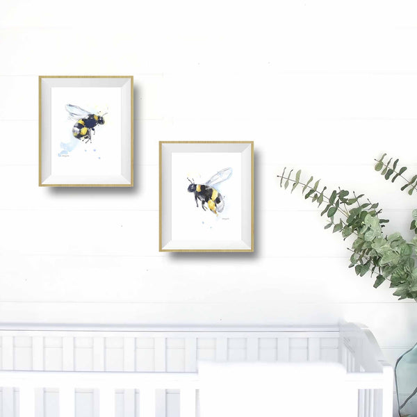 honey bee nursery decor