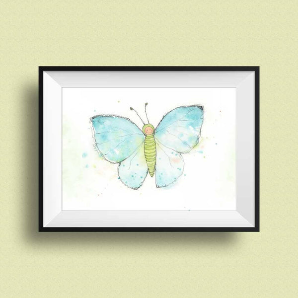 Butterfly Nursery prints