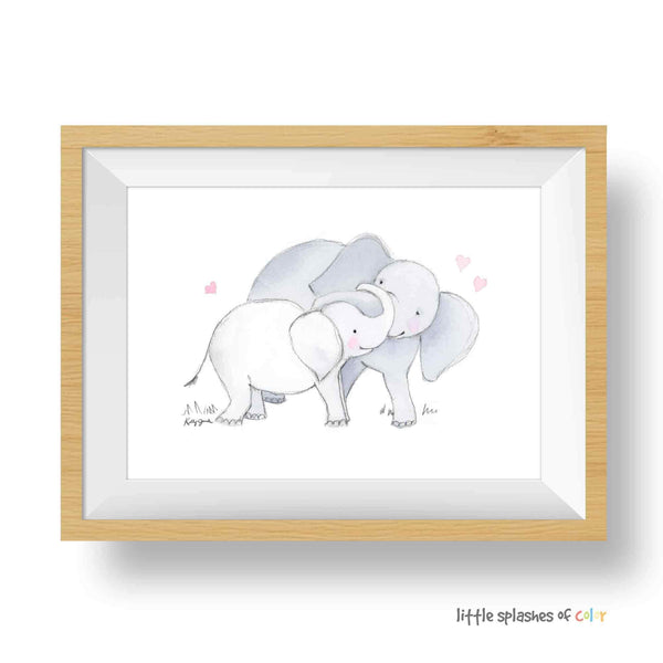 ELEPHANT NURSERY DECOR GIRL