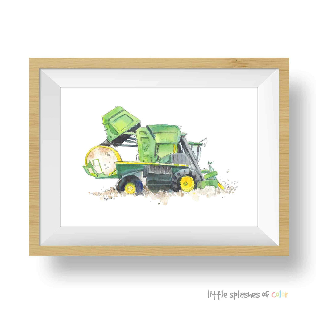 COTTON PICKER ART