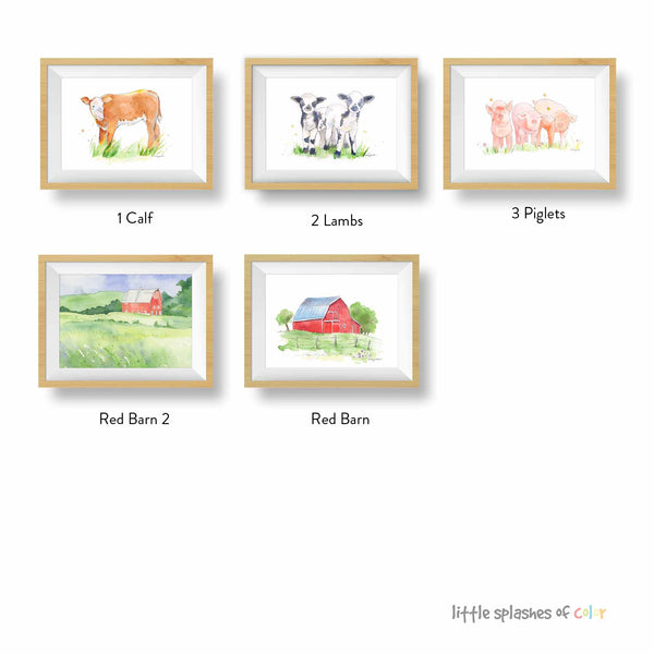 farm animal pictures to print