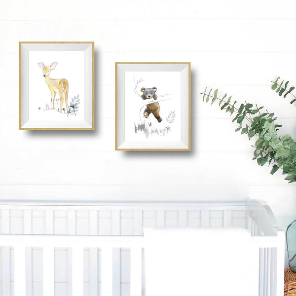 bear nursery decor