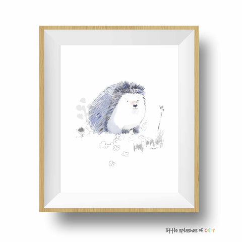 hedgehog printable
