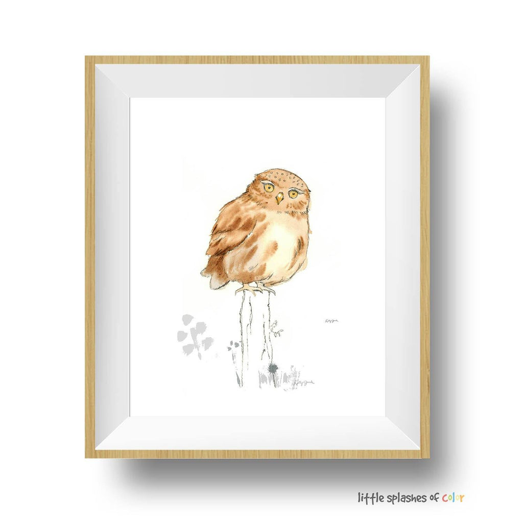 Owl decor for nursery