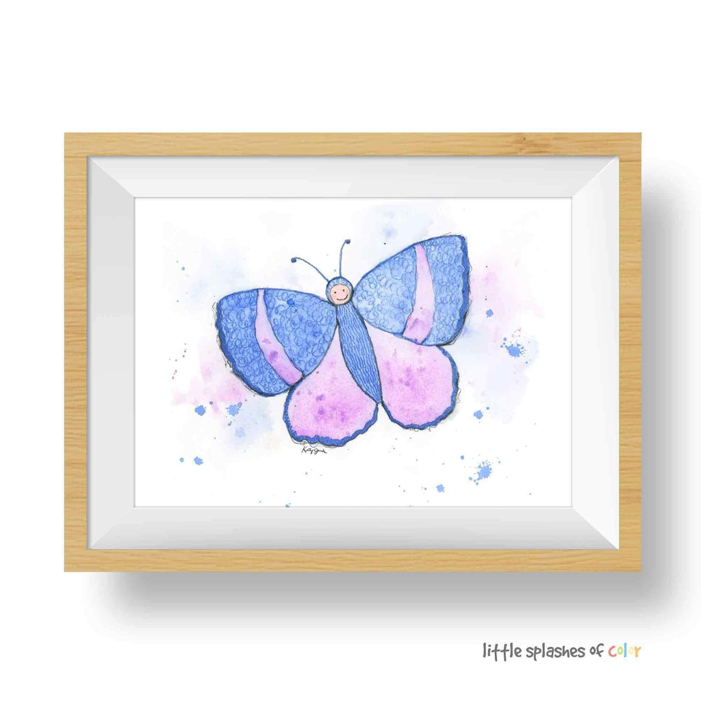 printable butterfly nursery decor