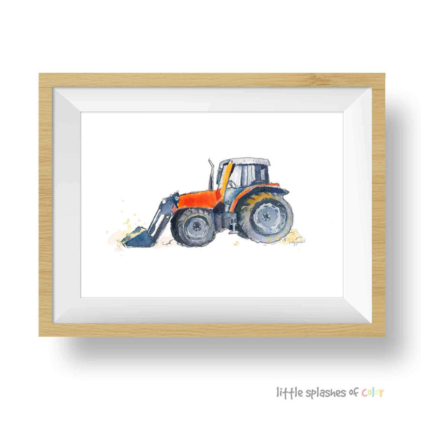 tractor printable