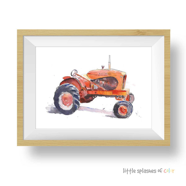 allis chalmers tractor printable