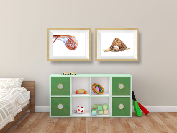 Best Sports Decor for Kids Rooms