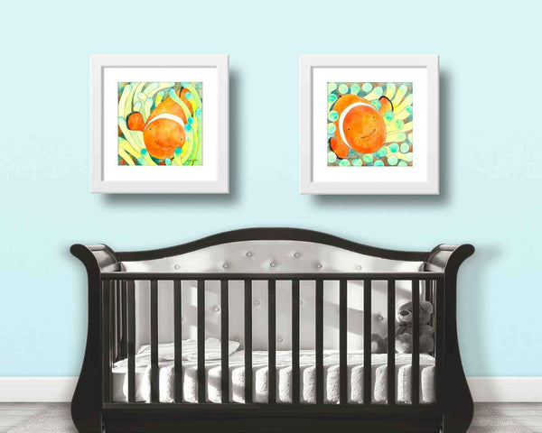 Clown Fish decor