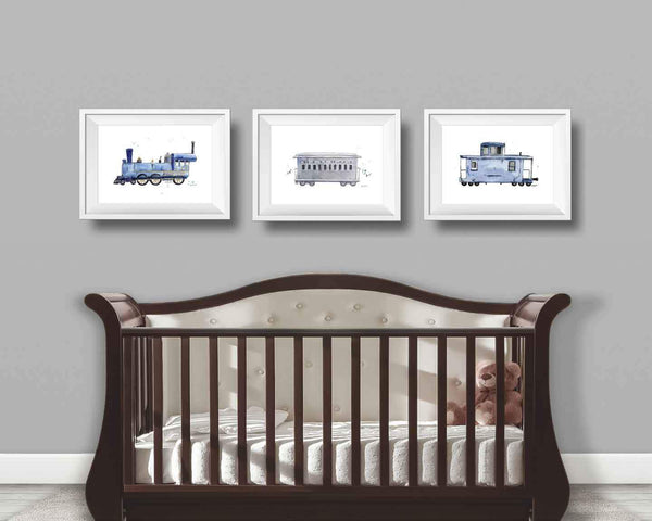 Train Nursery Wall Decor