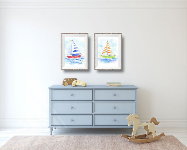 nautical nursery themed