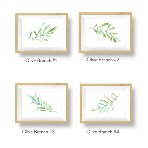 Buy Olive branch nursery decor