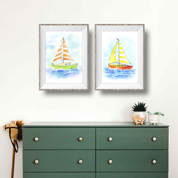 sailboat art prints for sale