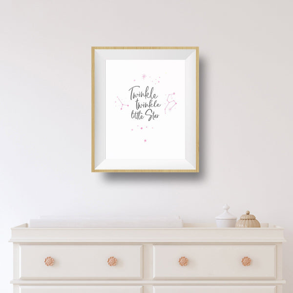 twinkle twinkle little star baby nursery